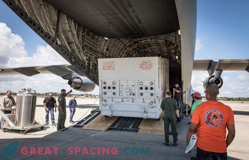NASA Solar Mission saabus Floridasse