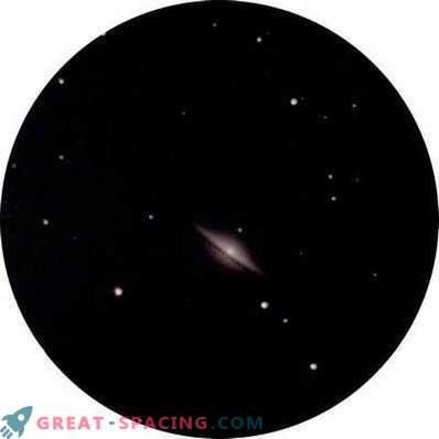 Pilk Sombrero galaktikast linnadest