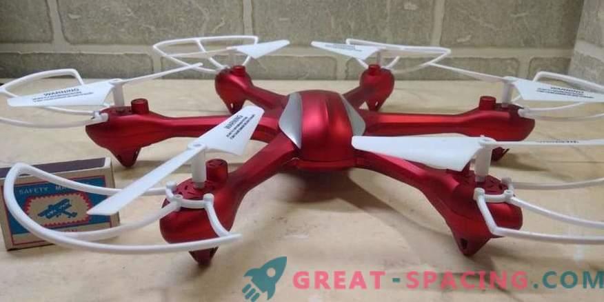 Hexcopters - ideaalne väikeste lendavate seadmete tüüp