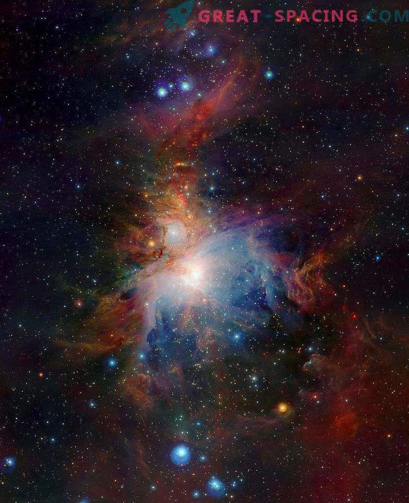 """Orioni tähtkuju """"Surma täht"""" neelab planeedid"""