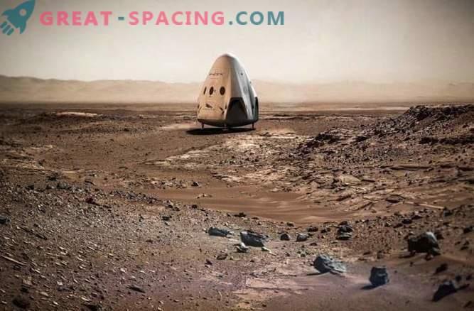 Mask: SpaceX läheb kaugemale Marsi piiridest