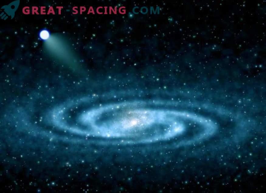 Galaktiline põgenemine: kus hüperkiiruse täht põgenes