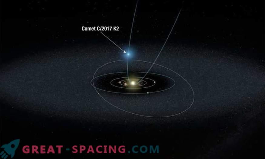 Hubble jälgib kõige kaugemat komeeti