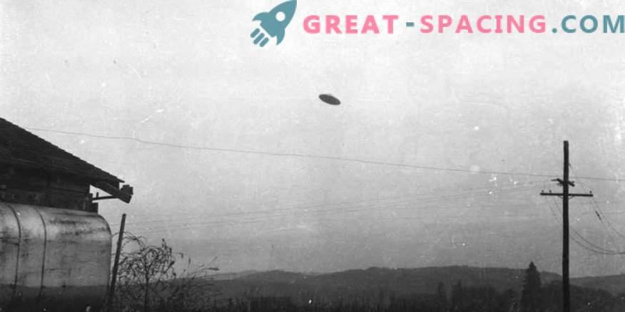 Intsident Oregonis - 1950. Kas põllumajandustootja saaks pildi tundmatu objektist