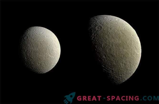 Cassini sond tegi kvaliteetseid pilte Rei'st