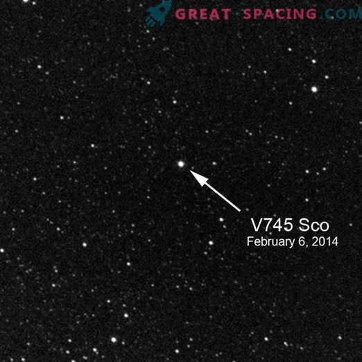Hämmastavad tähelepanekud V745 Skorpionis