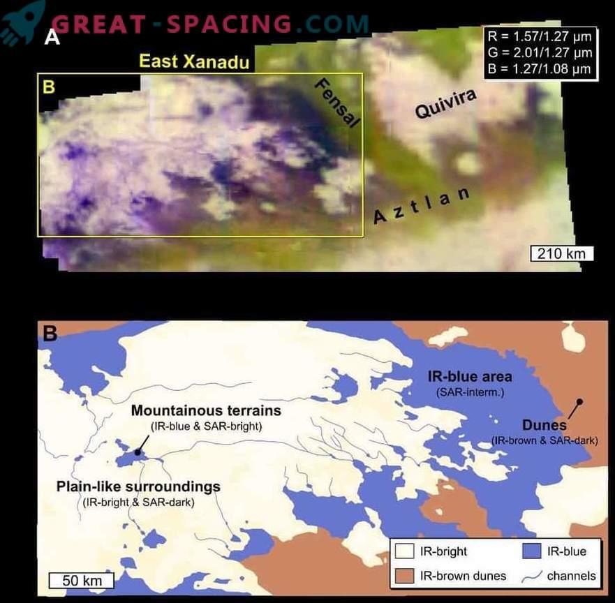 Titaani luited geoloogilise protsessi uued üksikasjad