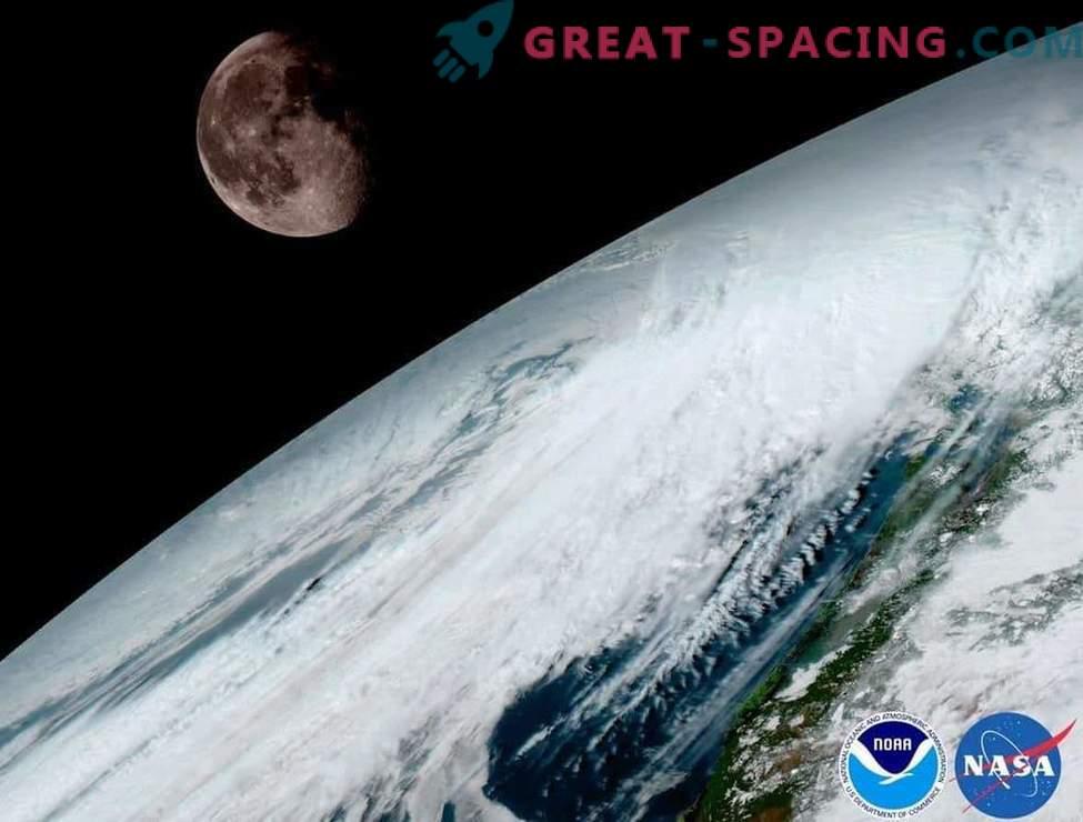 Uimast meteoroloogilisest satelliidist avaneb imeline vaade planeedile