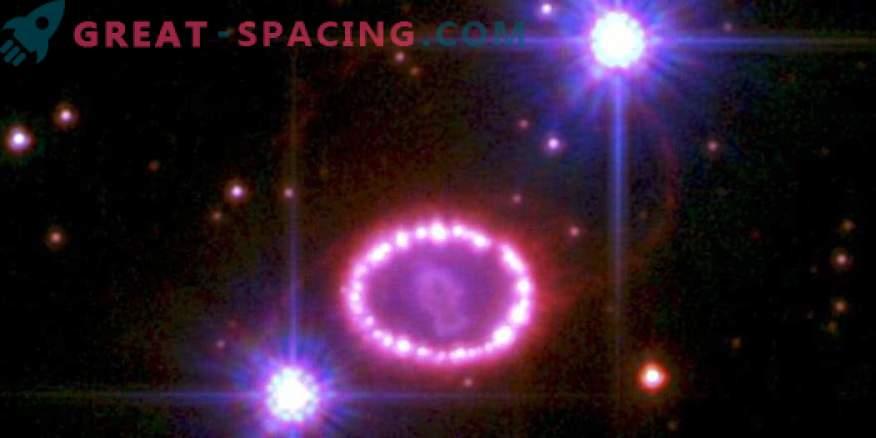 1987A supernoova jäänud magnetväli