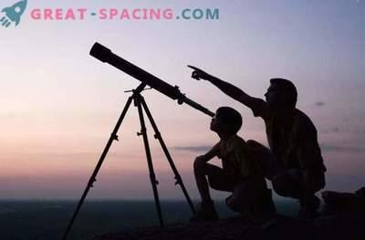 Mida võib näha kodus teleskoobiga