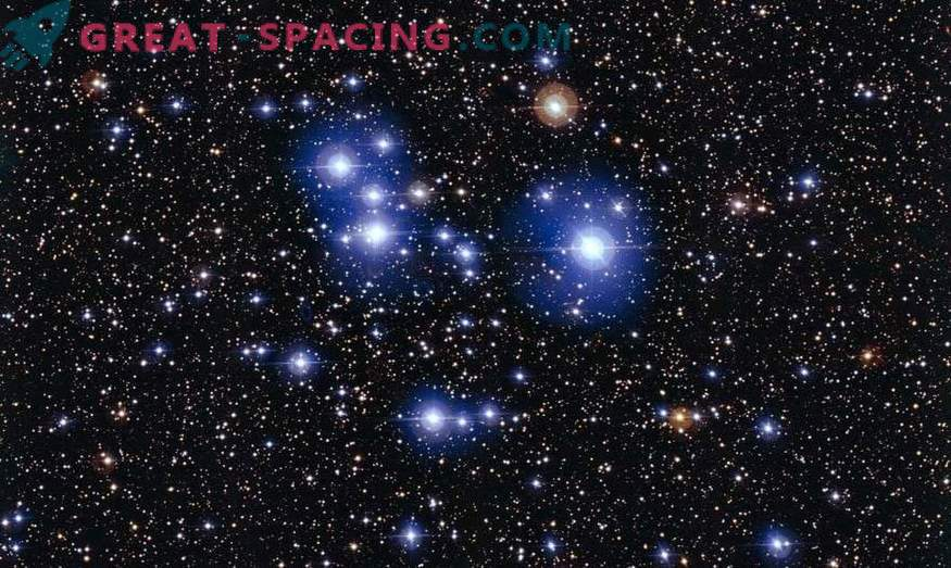 Noorte klastrite vastsündinud tähed