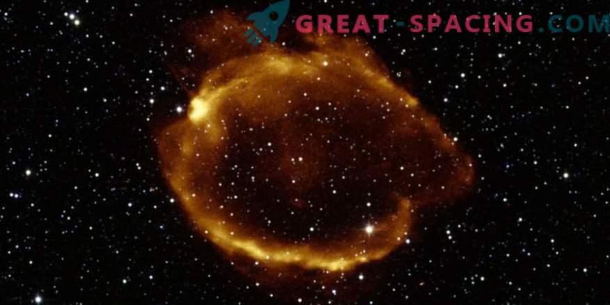 Gravitatsiooniläätsed leiti supernoovast