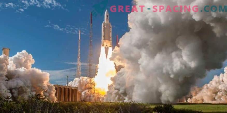Euroopa Ariane-5 raketi 100. käivitamine