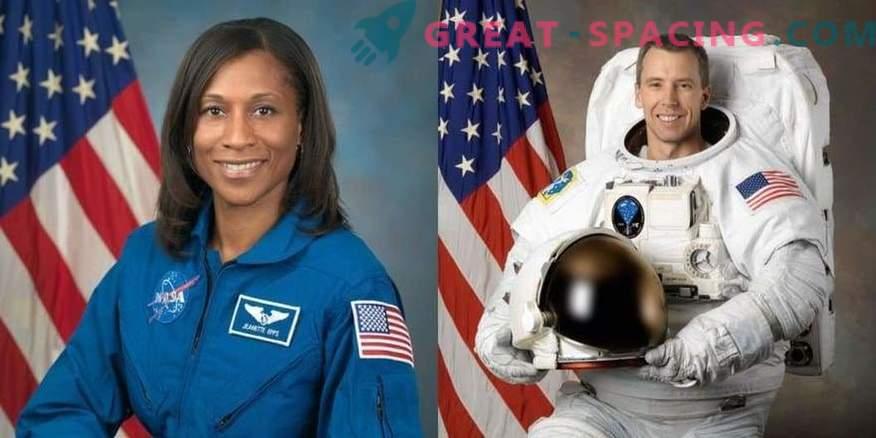 Valitud kosmose missiooni 2018 astronaudid.