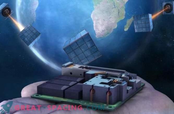 Väike satelliit on esimene samm globaalse kvantivõrgu poole