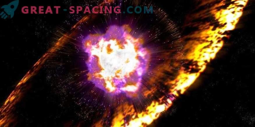 Astronoomid registreerisid supernova plahvatuse kõigepealt üksikasjalikult.