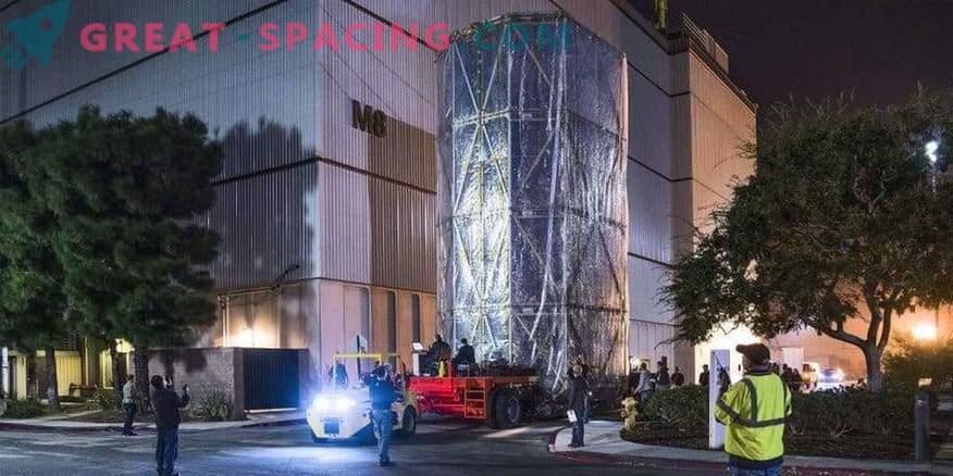 James Webbi teleskoop mobiilses steriilses ruumis