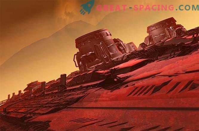 NASA: Marsi koloonia pikk tee alla
