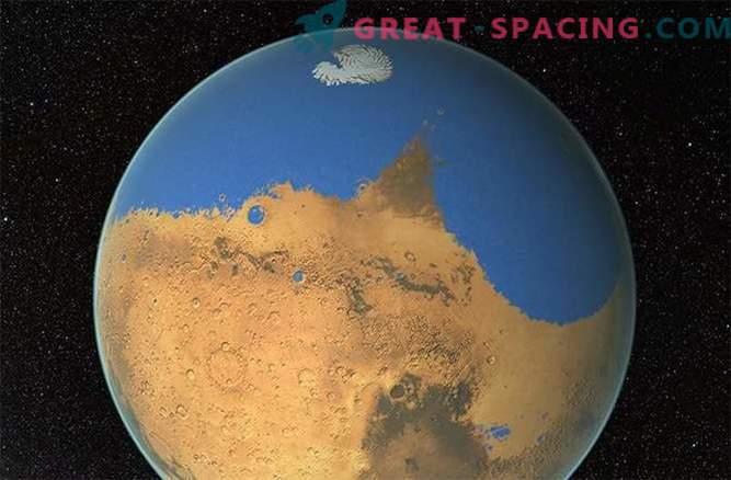 Kas asteroidid murdis jääd Marsil?
