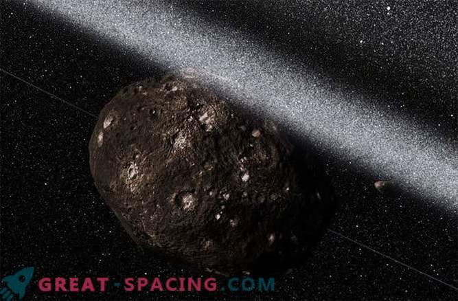 Asteroid-komeetide hübriidis tuvastati tsüklisüsteem