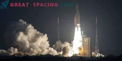 Ariane-5 raketi satelliidid tegid selle asukoha vea