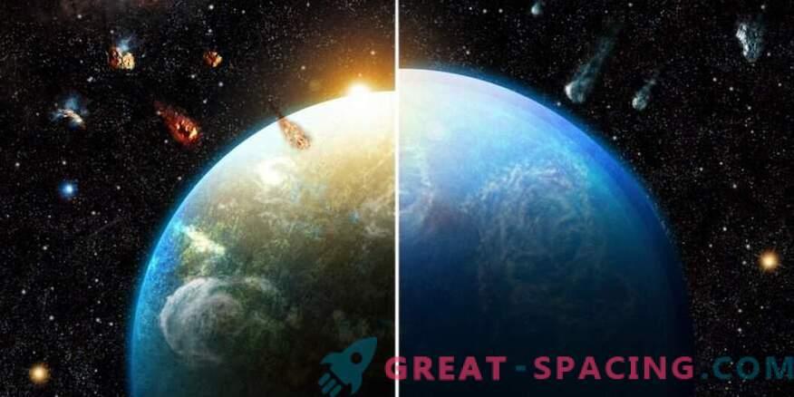 Millist rolli mängis supernova maapealse elu tingimuste kujundamisel
