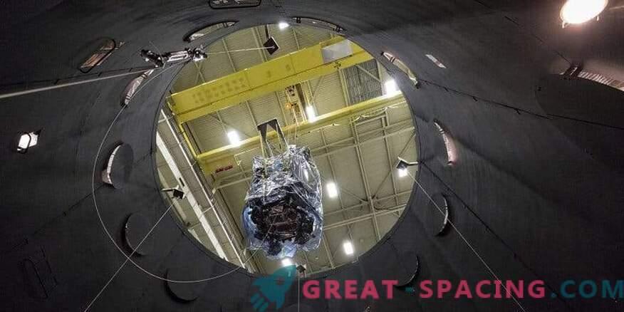 Parkeri päikeseproovi ettevalmistamine kosmoselennu jaoks