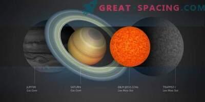 Väikseim tähe leitud
