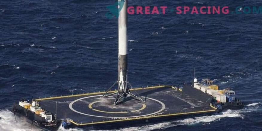 SpaceX raketi edukas tagasisaatmine pärast sõjalist käivitamist