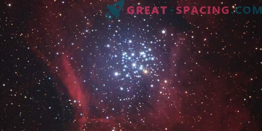 Chandra uurib NGC 3293 noort klastrit