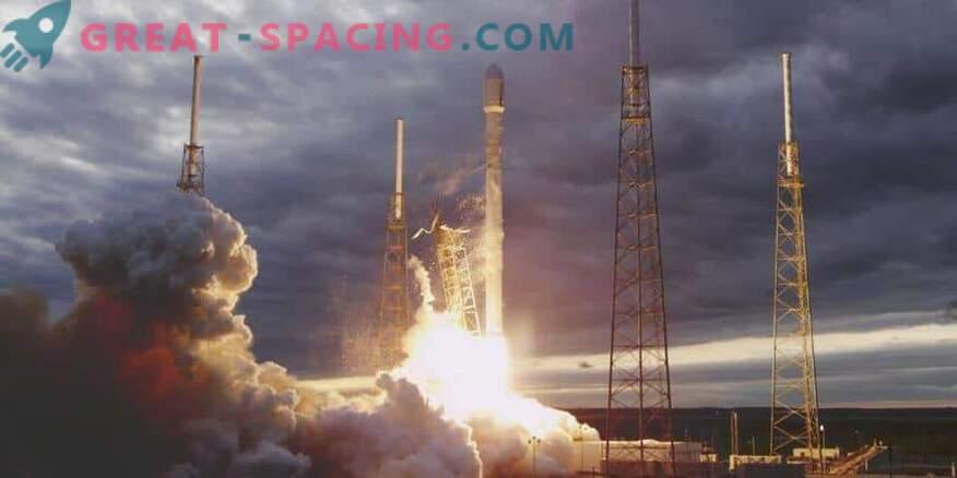 Halb ilm ei takistanud SpaceXil satelliidi käivitamist