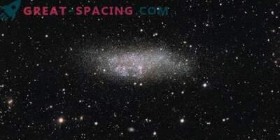 Kääbus galaktika kandidaadi üksikasjalik uuring