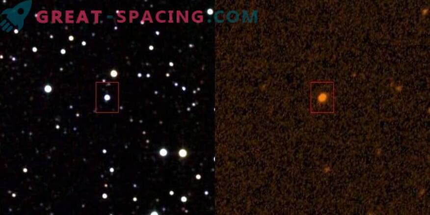 Alien struktuur kattub täht?