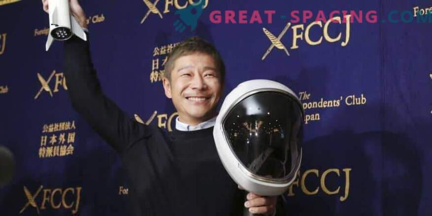 Jaapani kosmose turist on valmis koolitama lunarennu.