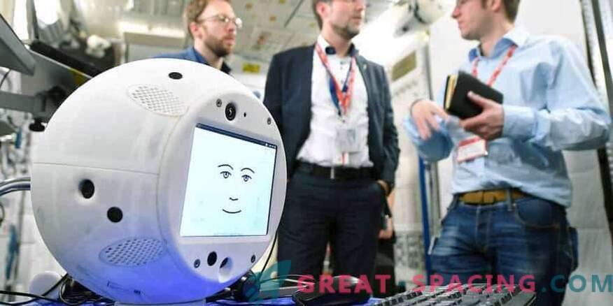 Robot AI-ga plaanib ruumi tungida.