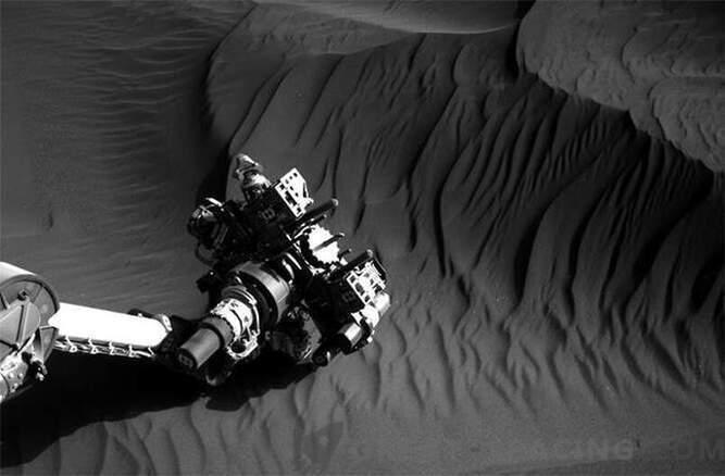 Marsi luited uurivad uudishimu: Fotod