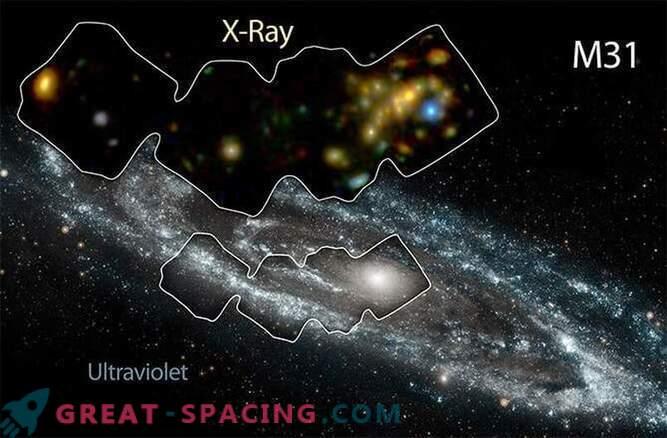 Andromeda galaktikat kuumutatakse röntgenkiirte ahjude abil