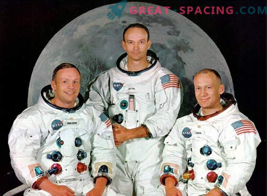 Kosmoselaeva valgus üle parda. Mis Buzz Aldrin Saw