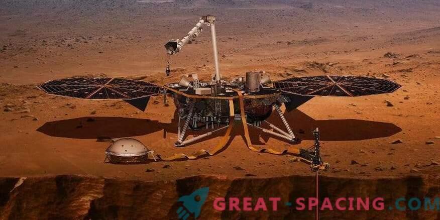 InSight haarab Marsi termomeetri