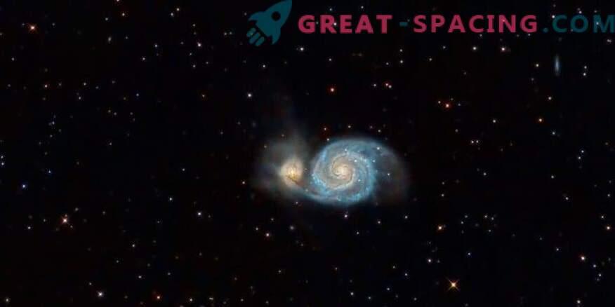 Whirlpooli galaktikas leiti vesiniku suur ioniseeritud pilv