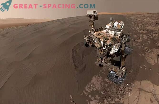 Selfies liivakastis! Marsi liivaluistides mängib uudishimu