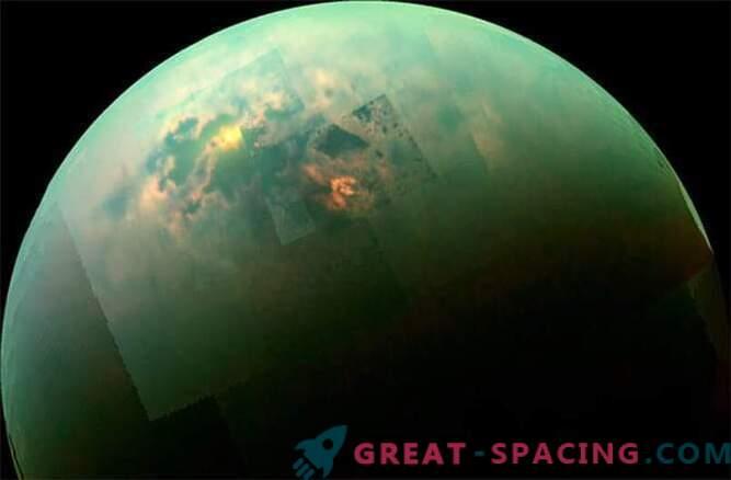 Cassini nägi päikeselist päeva Titani merel