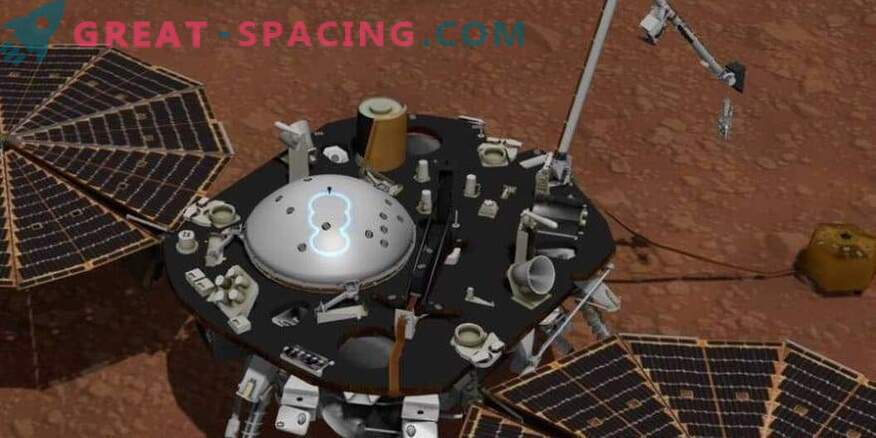 NASA InSighti uuringud Marsi ilm.