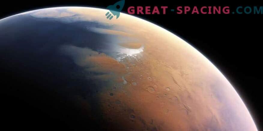 Varajane Mars näitab sooja kõrbe ja aeg-ajalt vihma.