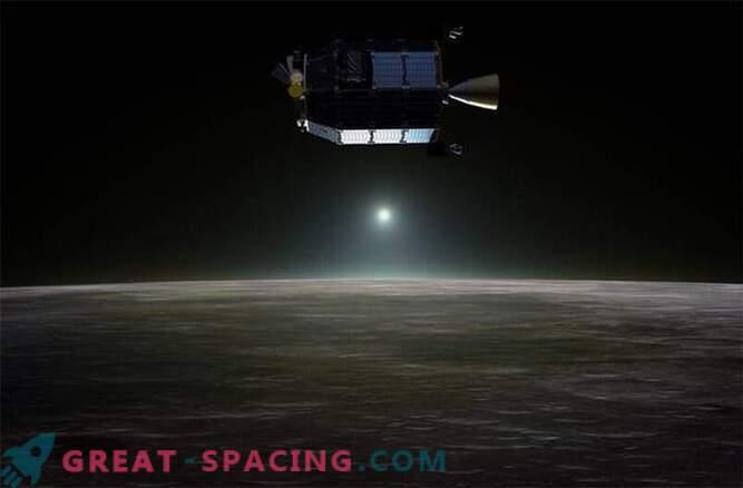 Сондата на НАСА показа, че Луната е обвита в неон