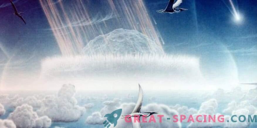 Hiiglasliku asteroidi langemine soojendas maa 100 000 aastat.