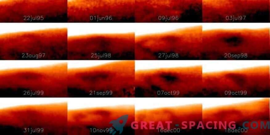 Jupiteril leiti tohutu külm koht.